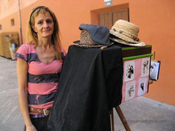Fabiana, fotógrafa minutera