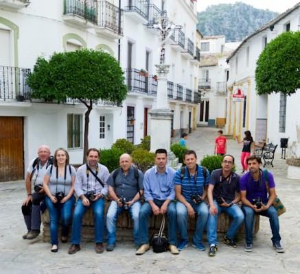 Participantes en el curso de iniciación a la fotografía impartido en mayo de 2014