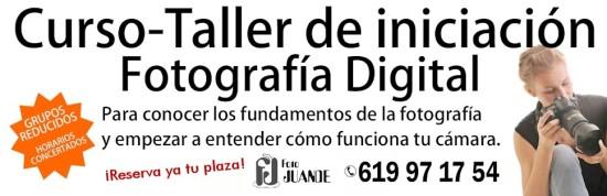 Curso-Taller de iniciación a la fotografía digital