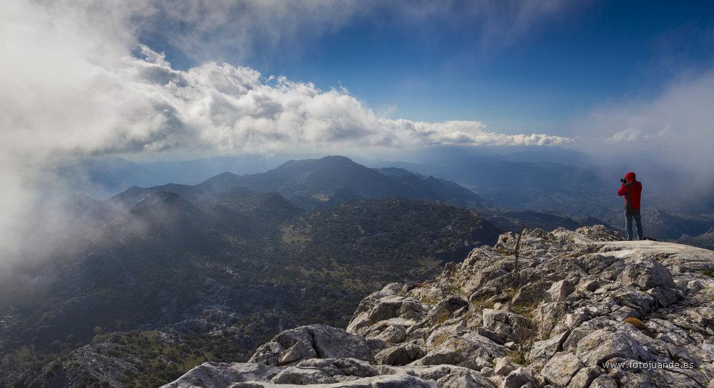 Paisaje desde la cima del Simancón