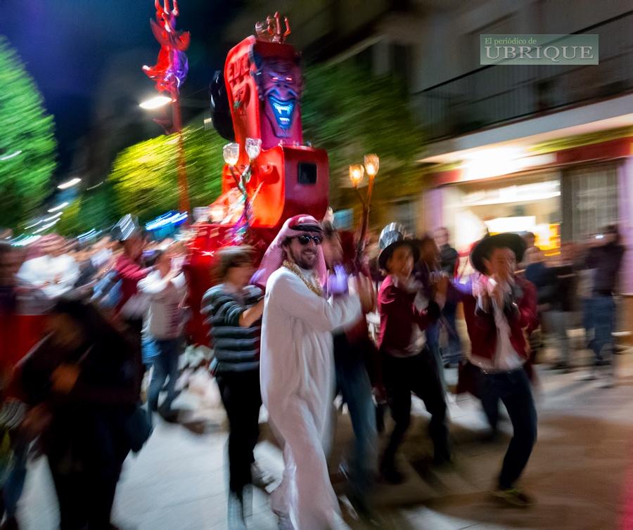 Fin de carnaval en Ubrique